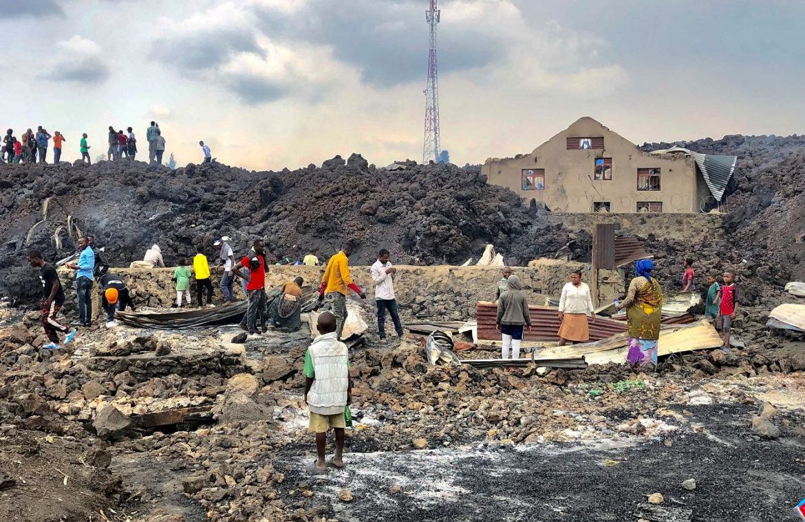 Democratic Republic of the Congo.  32 casualties after a volcanic eruption.  UNICEF: More than 100 children are missing    News from the world