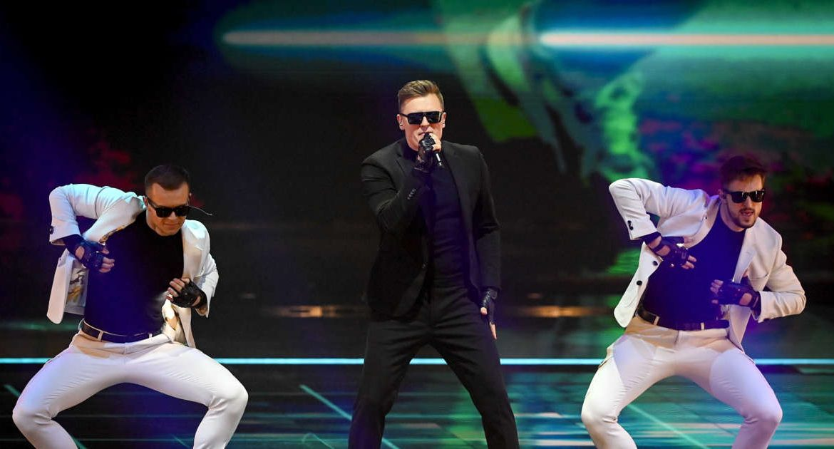 Eurovision 2021. After the performance of Raphael Brzuzovsky.  How did you fall?