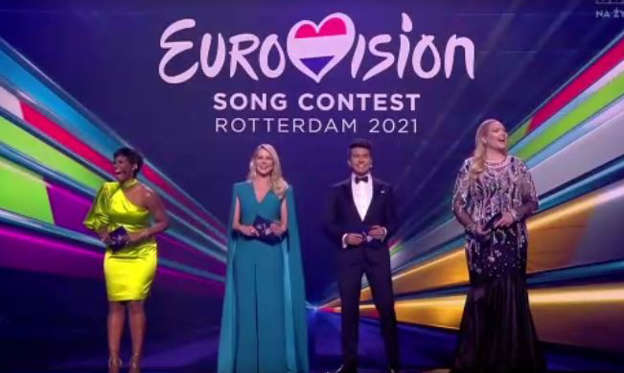 Eurovision 2021 - to be hosted on stage in Rotterdam