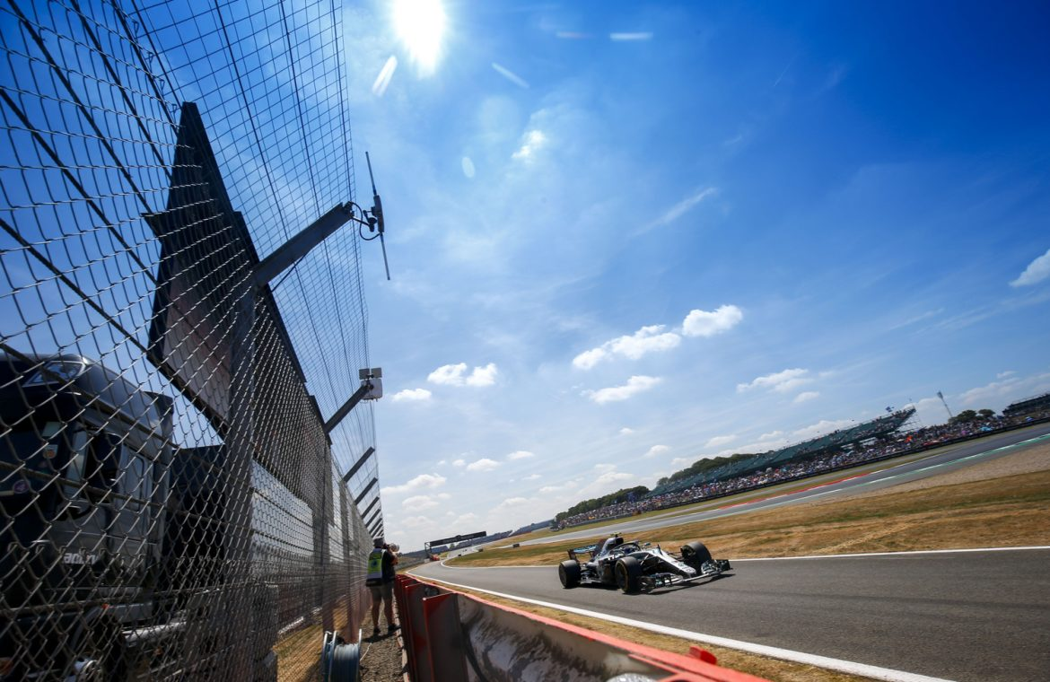 For an F1 race with a vaccine passport?  The authorities insist