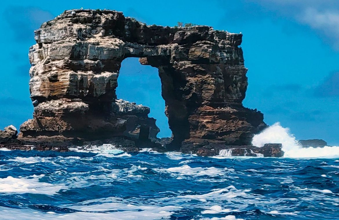 """Galapagos Islands.  Darwin's arc has collapsed.  We are now talking about """"pillars of evolution."""""""