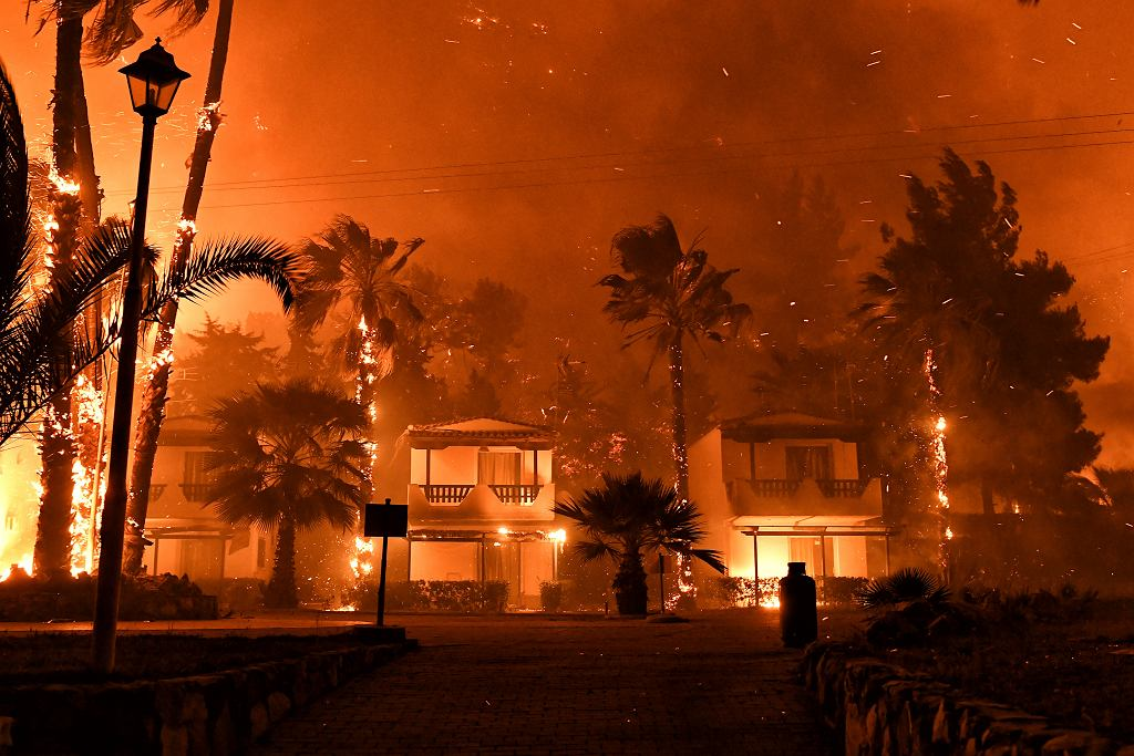 Fire in Bełchatów (illustrative photo)