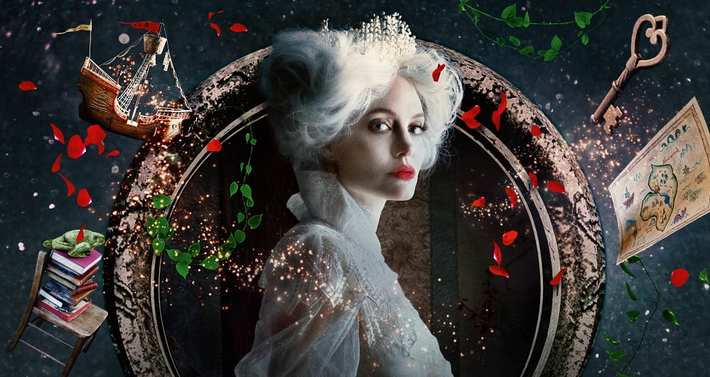 Peter Pan and Alice in Wonderland: Polish Trailer and Release Date.  Star galaxy, led by Angelina Jolie, admires fairy makeup