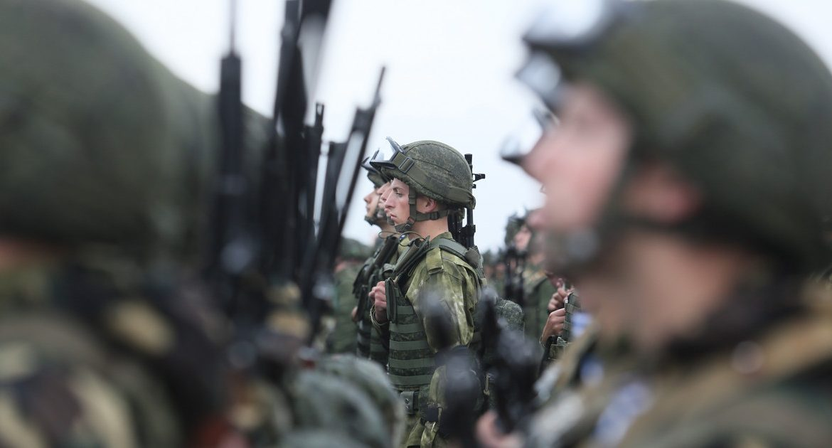 Russia is also working to strengthen its army on the border with Poland