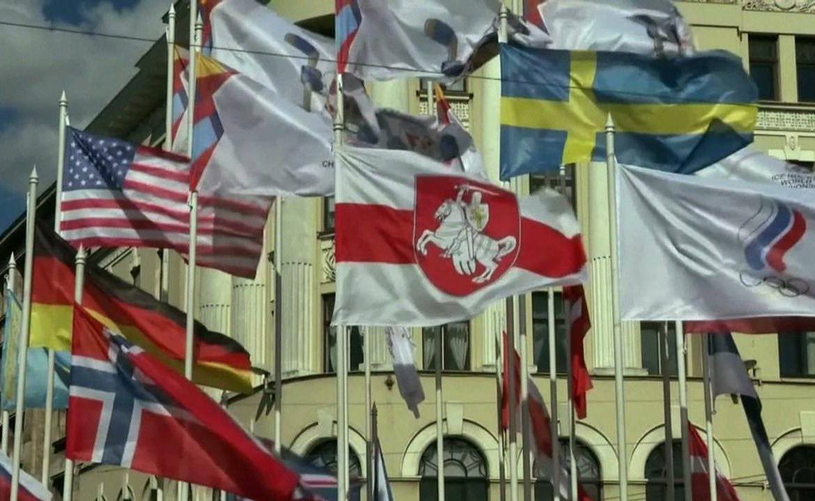 The Belarusian Prosecutor's Office has launched an investigation into the flag filed in Riga