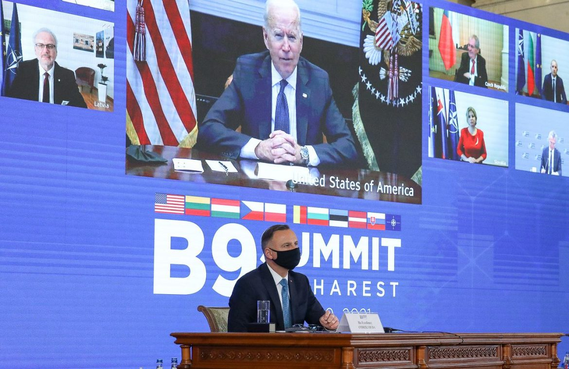 """The White House after the B9 summit meeting with Duda: """"Biden stressed the importance of democracy and the rule of law.""""  world News"""