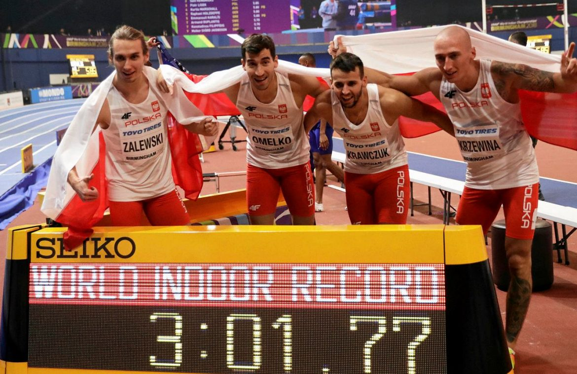 "The fall of Polish records!  ""We'll be slower with it,"" Athletics"