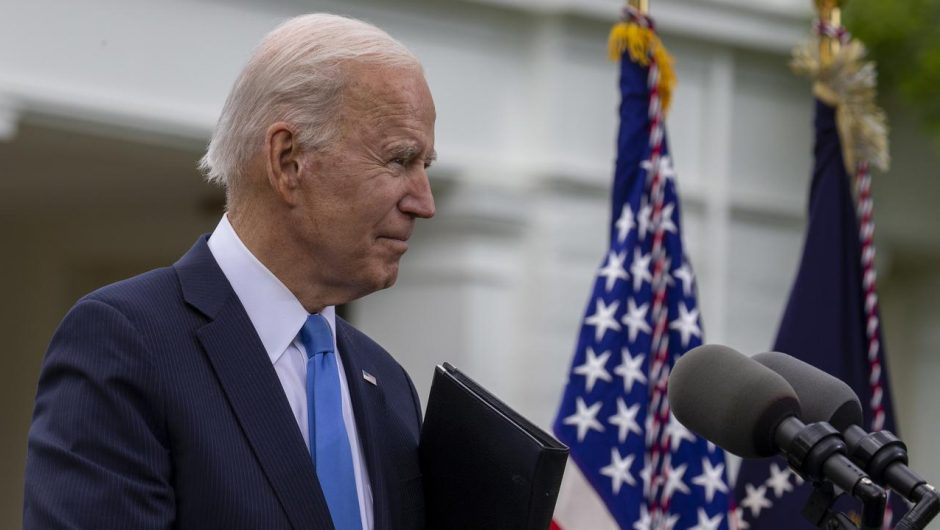United States of America.  Joe Biden vetoed Donald Trump's immigrant insurance decision