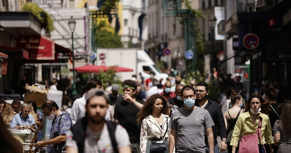Easing restrictions in Europe.  France and Italy impose curfews