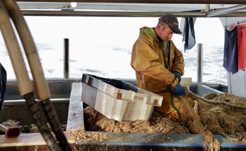 Duża część francuskich rybaków nie otrzymała pozwolenia od brytyjskich władz (fot. Sylvain Lefevre/Getty Images)