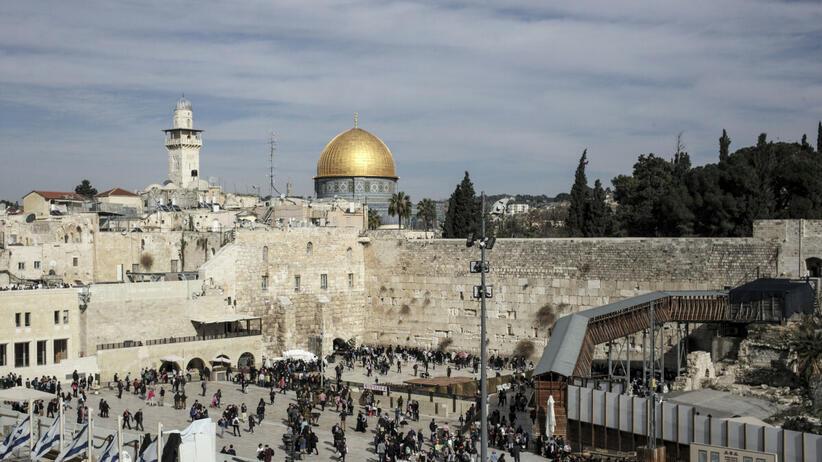 Izrael - turyści