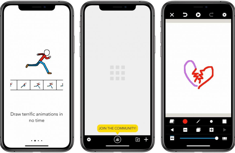 #80 Application of the Week - Folioscope.  Way to learn animation!  Szczecin iPhone Service خدمة