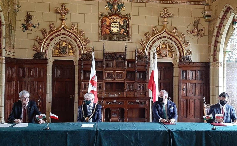Dotąd w Walii nie było polskiego konsulatu (fot. Polish Embassy UK)