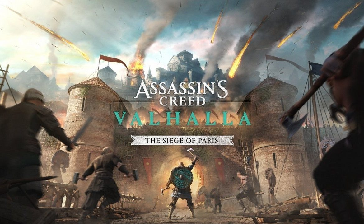 AC Valhalla: Paris Siege in the first parts of the game