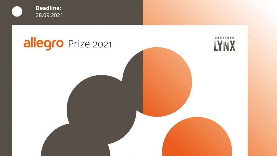Allegro Prize 2021 kicks off - an international competition for visual artists