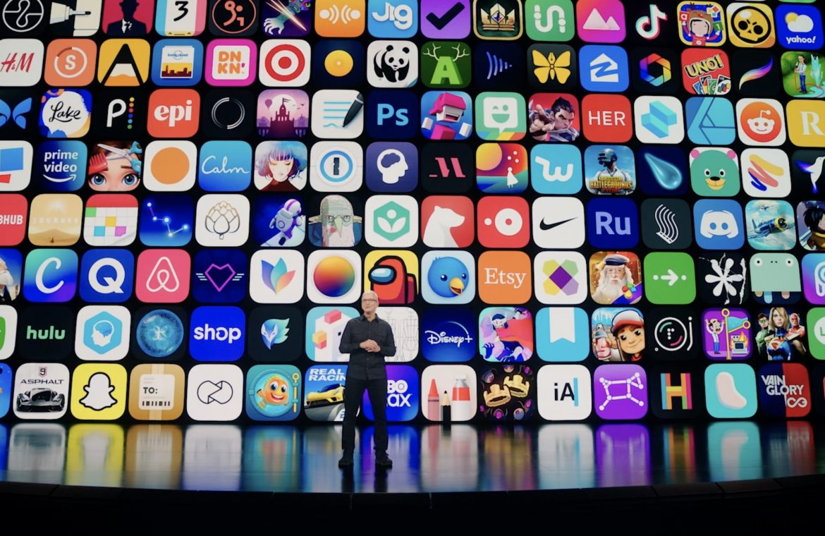 Apple conference.  WWDC 2021 - Report, top news