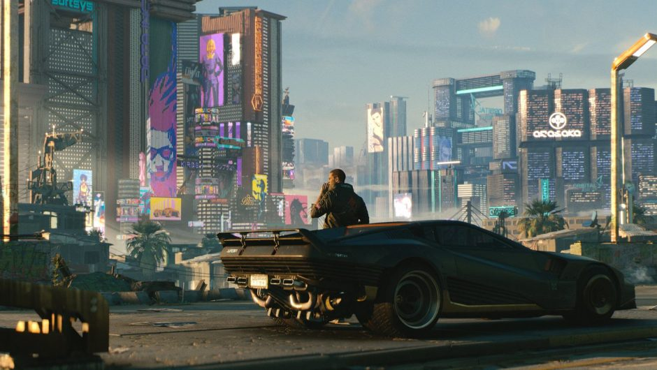 Cyberpunk 2077 with the new update 1.23.  CD Projekt is still losing in the stock exchange [LISTA ZMIAN]