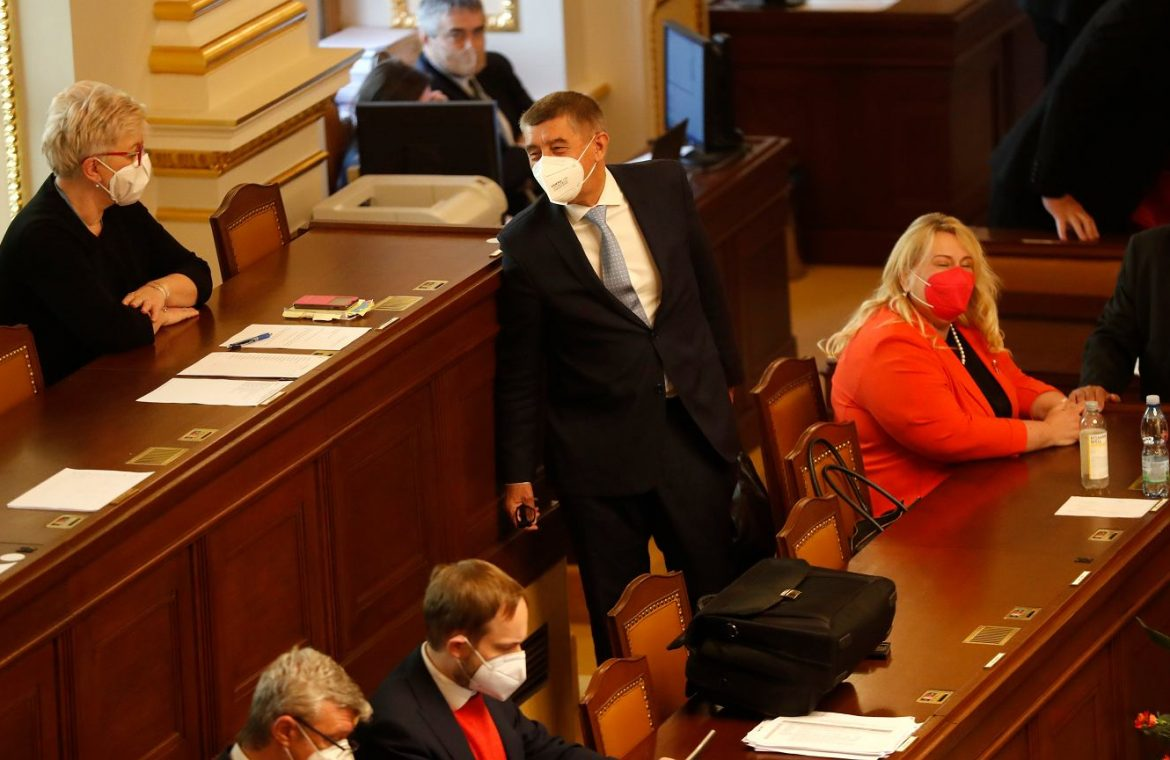 """Czech Republic.  The names of the women in the blanket without their obligatory ending """"egg"""".  Parliament deals with the new law 