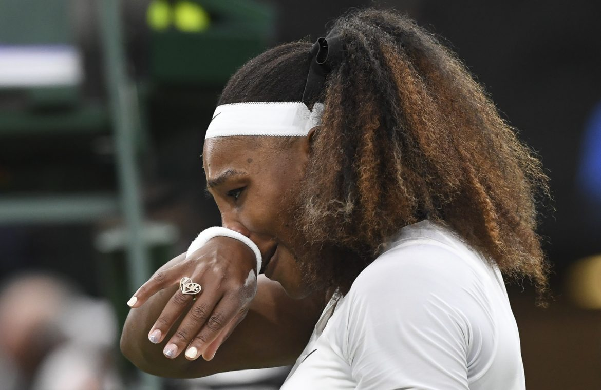 Drama Serena Williams!  The American woman left the court with tears in her eyes (video)