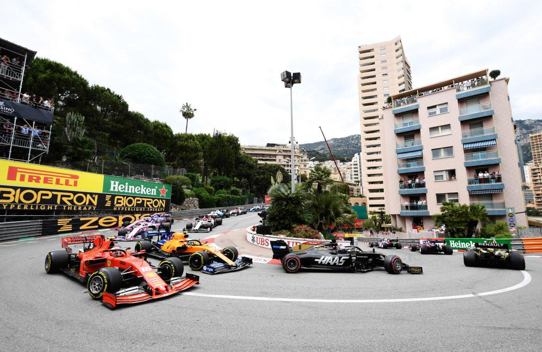 F1: Monaco Grand Prix live.  TV broadcasting, online streaming