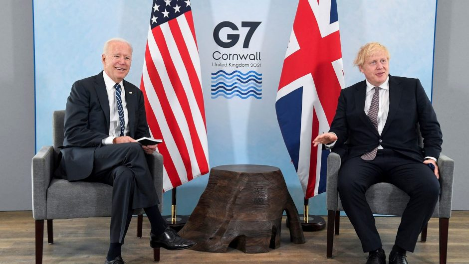 G7 summit.  Among the topics, incl.  Opposition to Beijing and Moscow |  world News