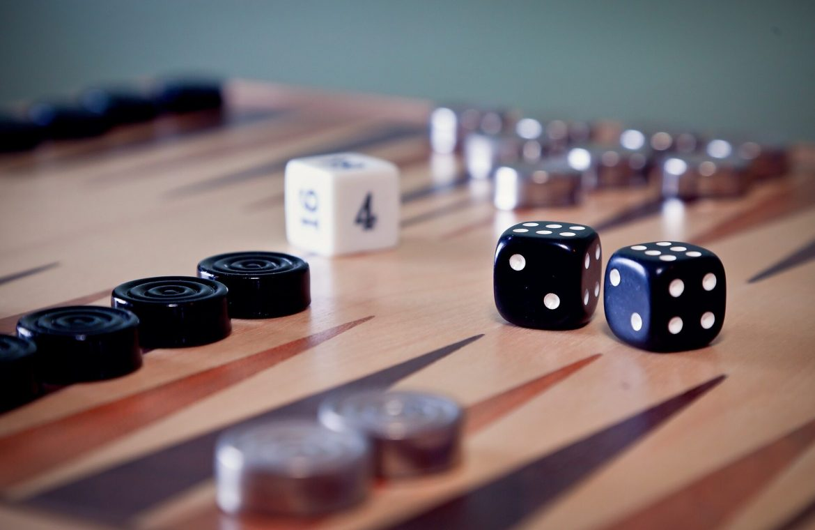 Germany.  Black dice board game publisher will remember