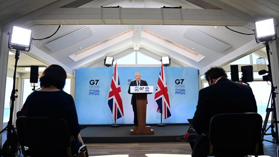 Group of Seven summit.  Key outcomes of the UK leadership meeting