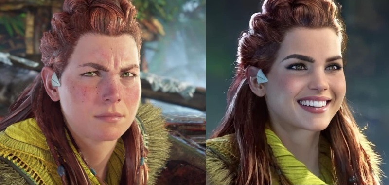 Horizon Forbidden West has divided the players.  Some fans are complaining about Aloy's appearance