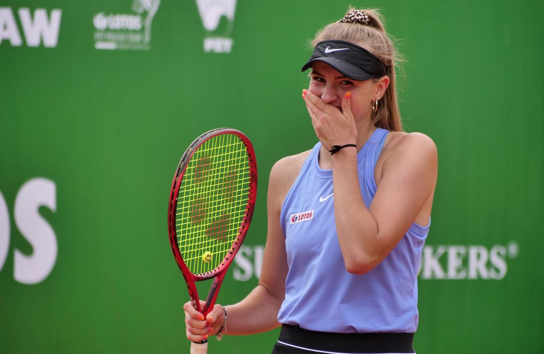 ITF Series: Doubles title for Martina Kopka.  Maja Chualinska did not finish the match