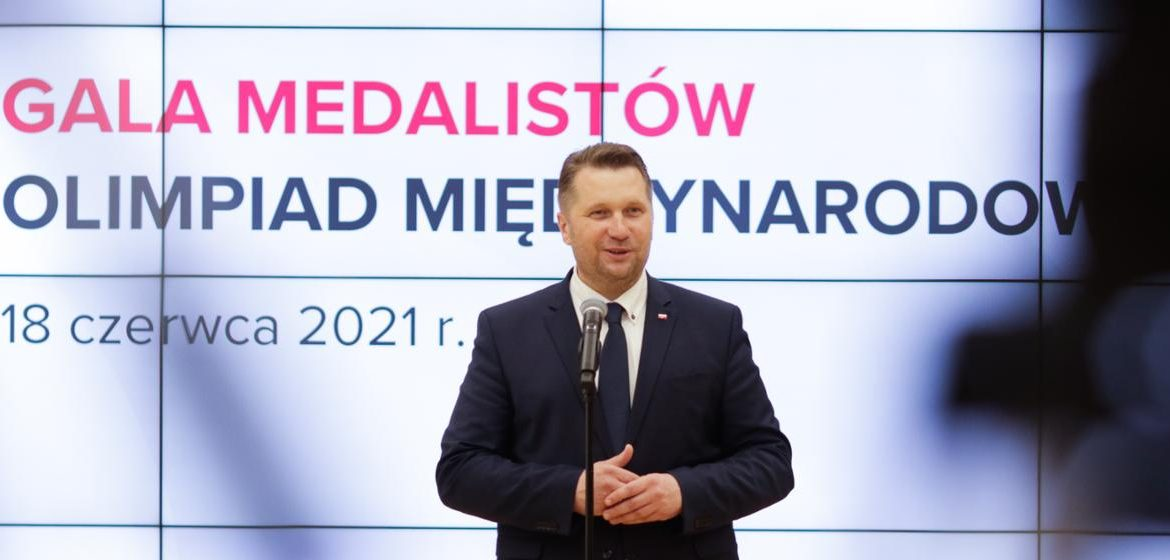 International Olympic Medals Ceremony with the participation of MEiN Administration - Ministry of Education and Science