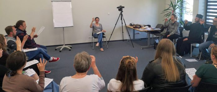Learn sign language at the cultural center in Urla [FOTO]