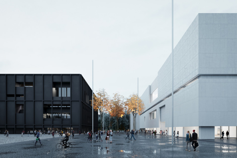 Museum of Modern Art with space to secure collections