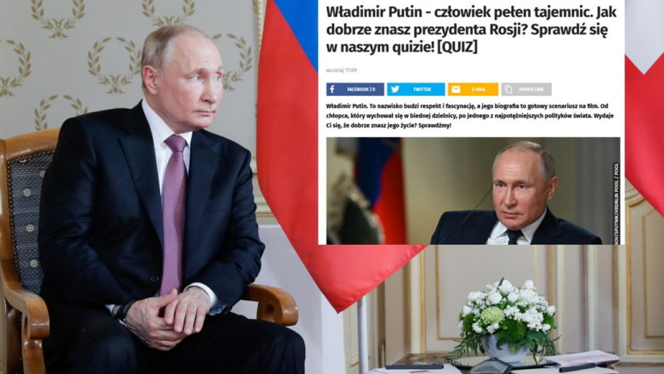 Onet scandal question about Putin: 'The name suggests respect'