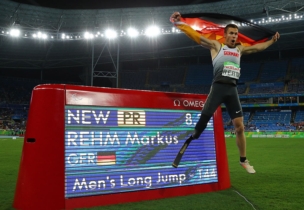 Markus Rehm, German long jump champion with the Rio 2016 T44, will judge at the Para European Athletics Championships starting tomorrow in Bydgoszcz, Poland © Getty Images