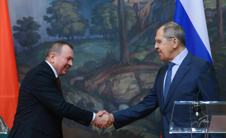 Russia - Belarus.  Sergey Lavrov in the Sofia Sapiga case