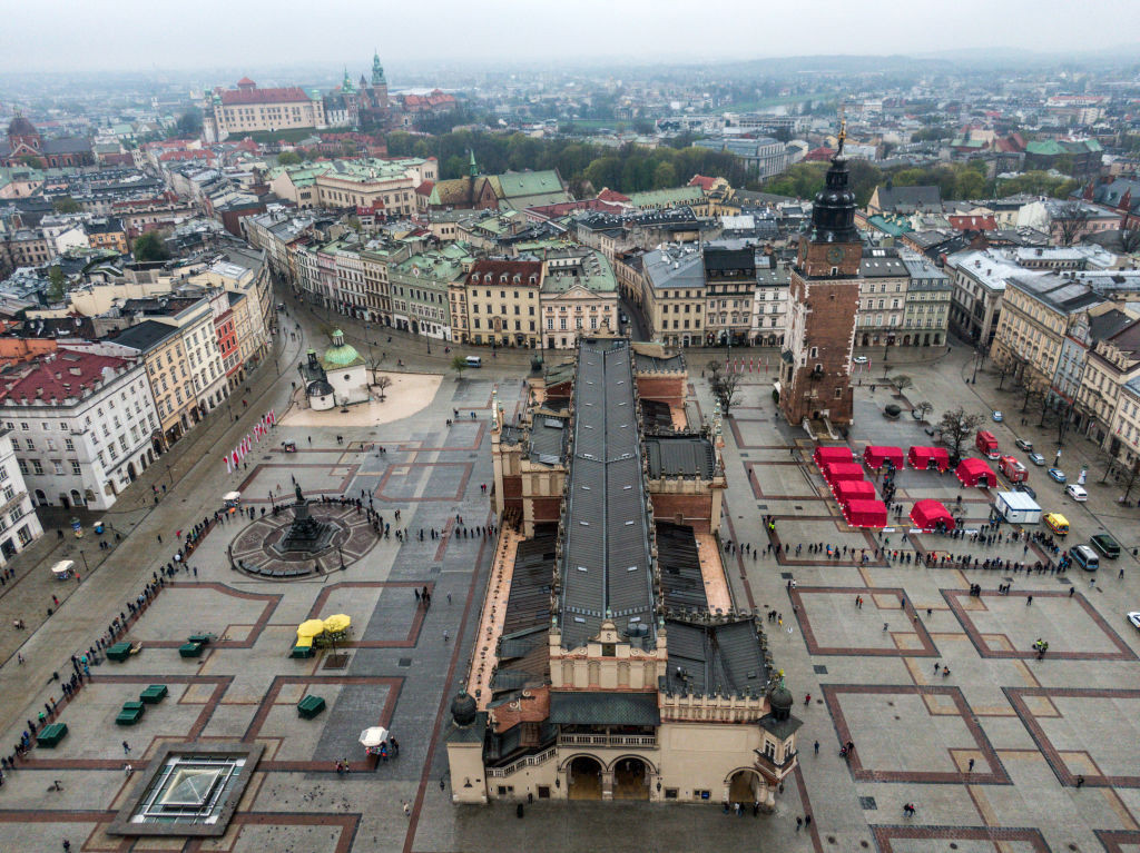 The city of Krakow Malopolska will host the 2023 European Games © Getty Images