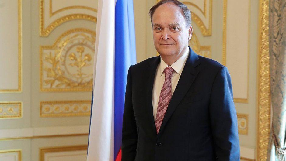 United States and Russia.  Ambassador Anatoly Antonov returned to the United States