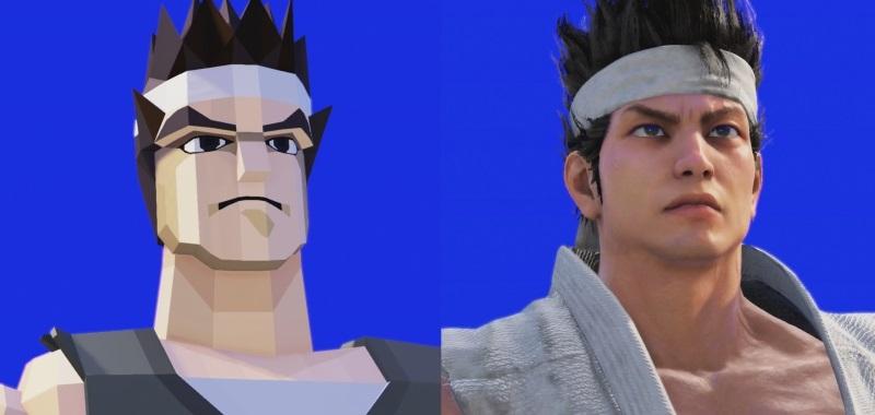Virtua Fighter 5 Ultimate Showdown in comparison.  Comparison with classic warriors and PS3 version