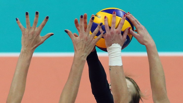 Volleyball players in the League of Nations: Germany - USA.  Live coverage and score
