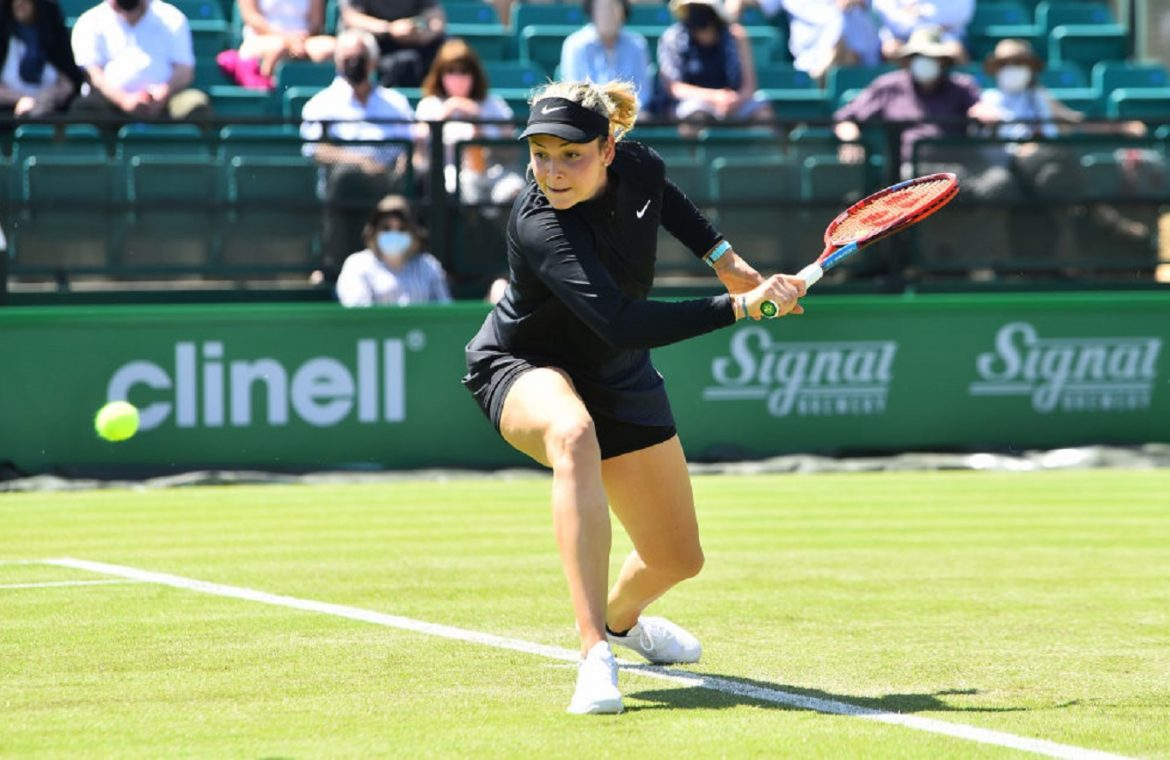 WTA Nottingham: Joanna counts among the quarter-finalists.  Defeat the former champion
