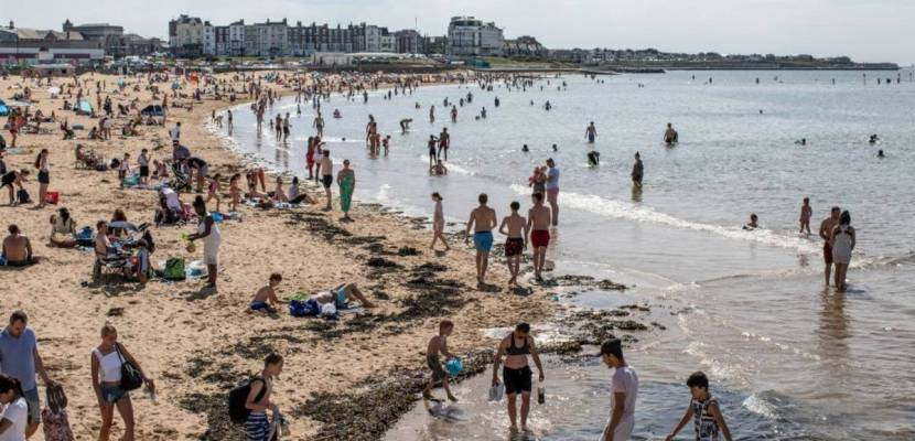 Where is the beach in the UK?  Where can you rely on clean water?