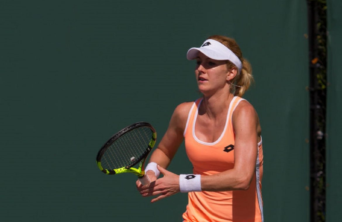 Wimbledon: Ursula Radwiska stopped in the crucial qualifying stage.  American appeared for the first time