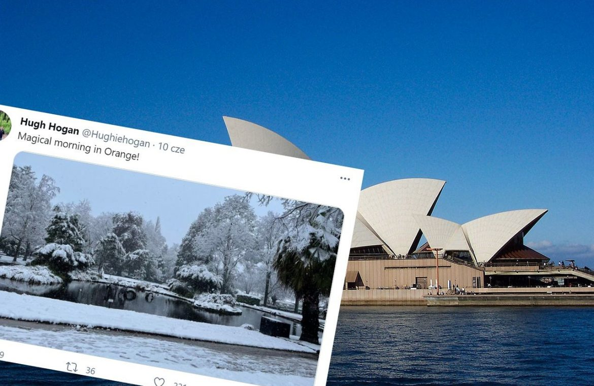 Winter hit in Australia.  The coldest day in 37 years has been recorded in Sydney    News from the world