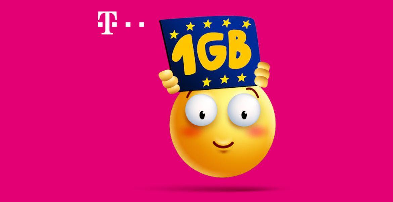 T-Mobile: Free EU Roaming 1GB Plan