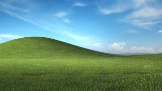 Microsoft Teams wallpaper from Windows XP
