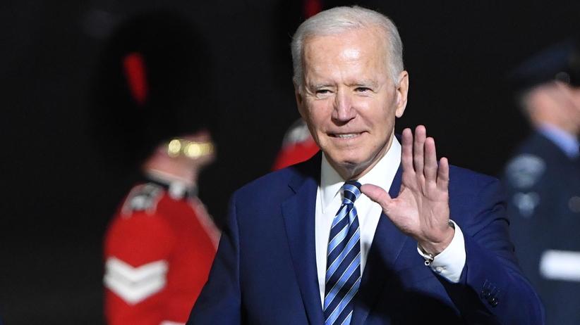 Joe Biden w Wielkiej Brytanii