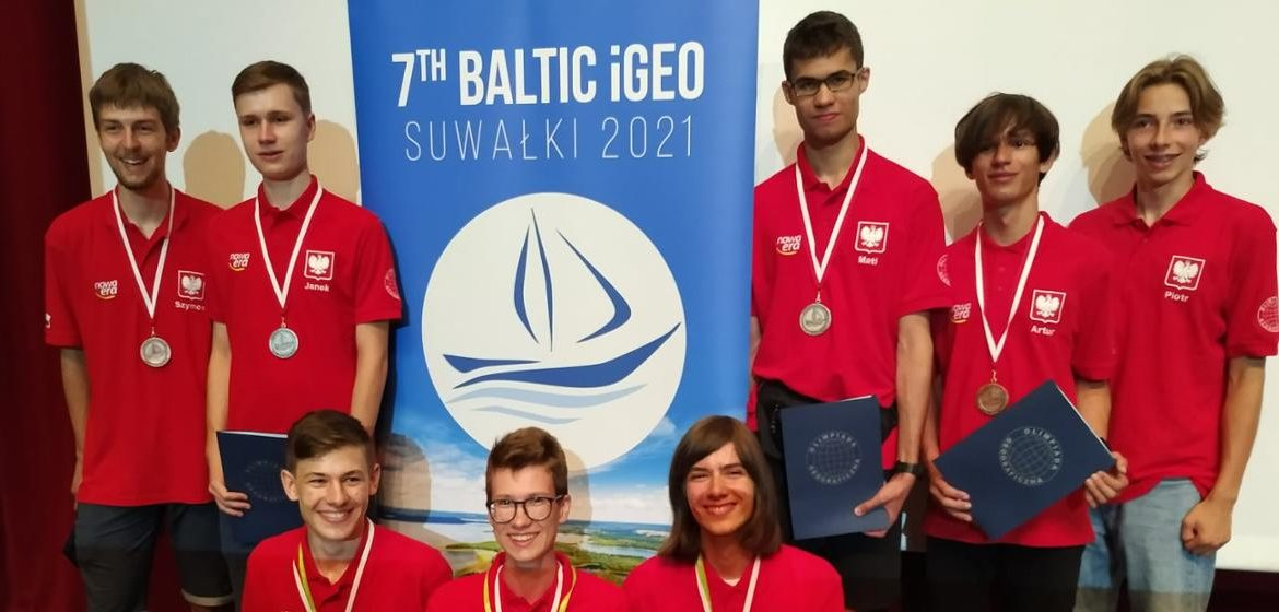 7th Baltic Olympiad in Geography - 7 medals for Polish students!  - Ministry of Education and Science