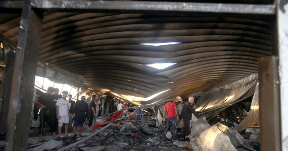 Iraq: Hospital fire for COVID-19 patients.  The number of victims is increasing
