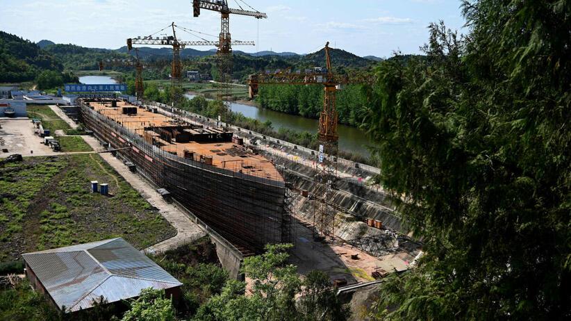 Chiny, replika Titanica
