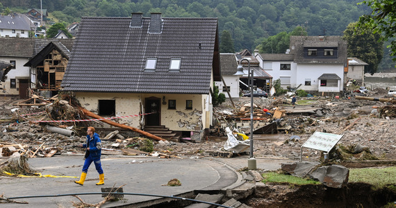 Flood in Germany.  Within hours, there was as much rain as usual in a month